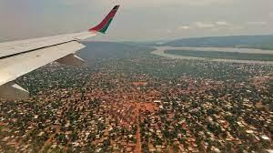 Bangui madártávlatból (Forrás: dr. Vogel Dávid)